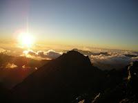 主峰的日出