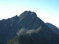 回頭看玉山主峰