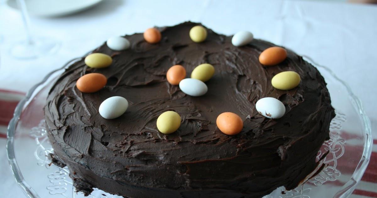 mauds franska chokladtårta