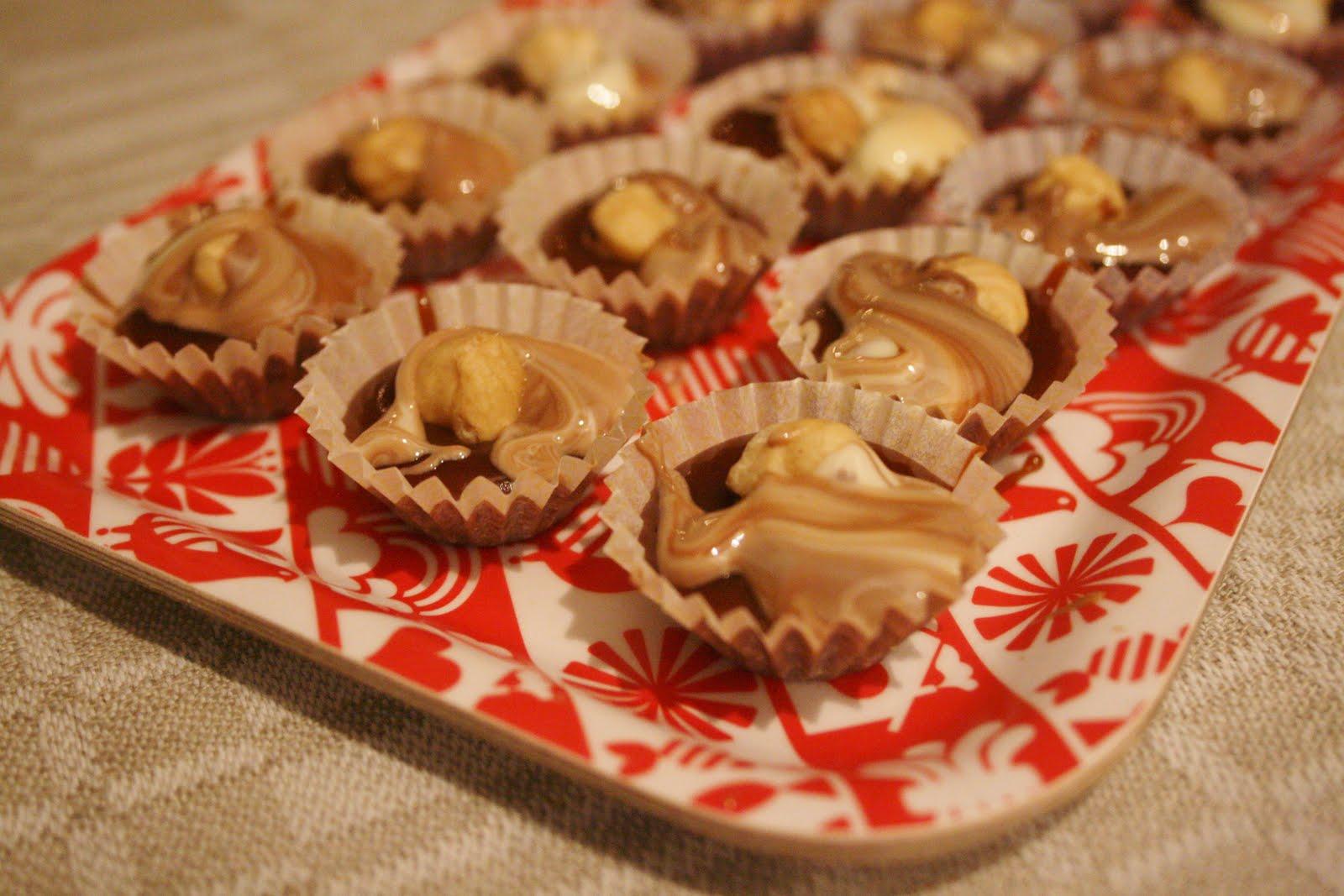 knäck med choklad