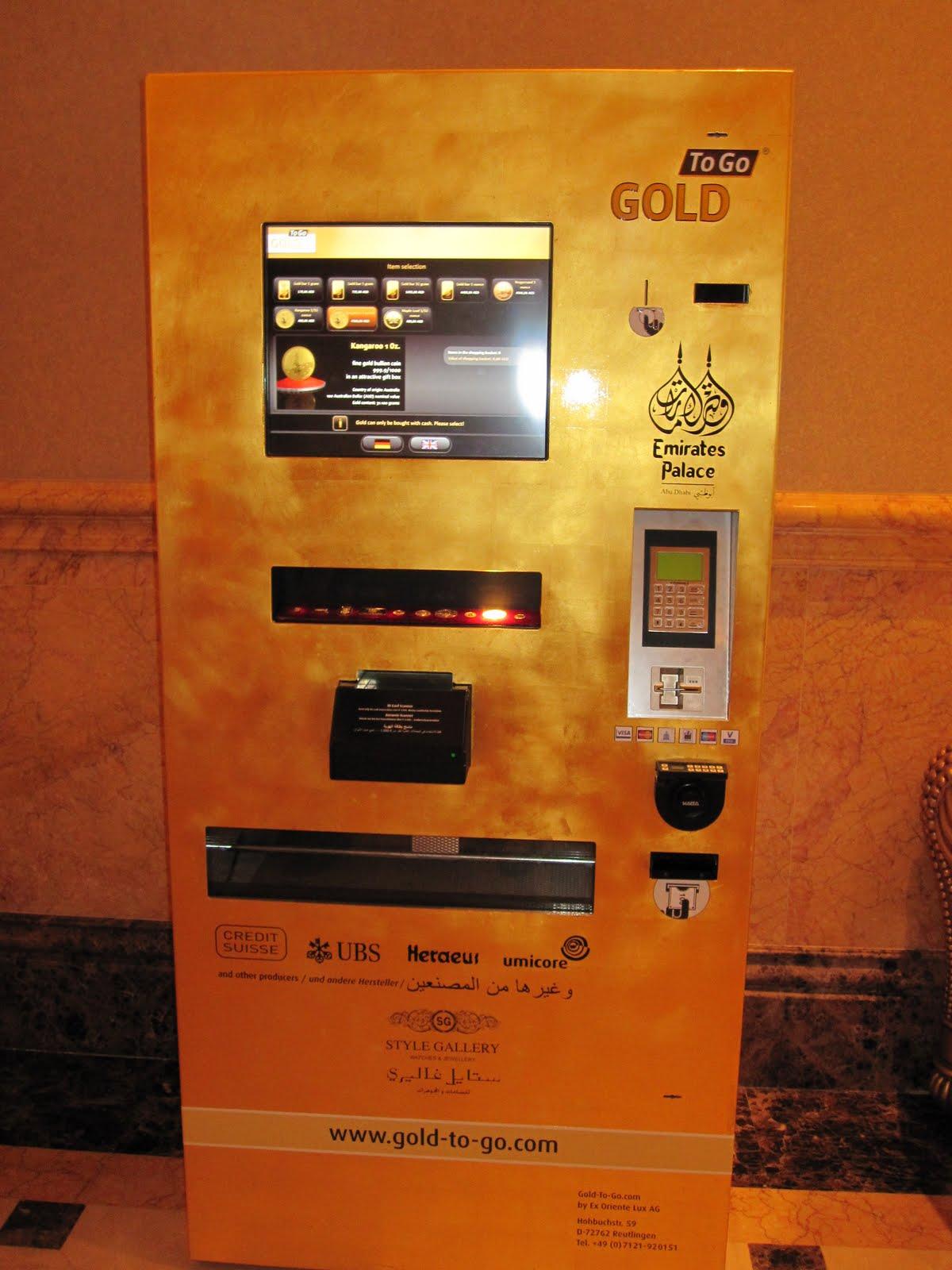 Emirates Palace Gold Atm