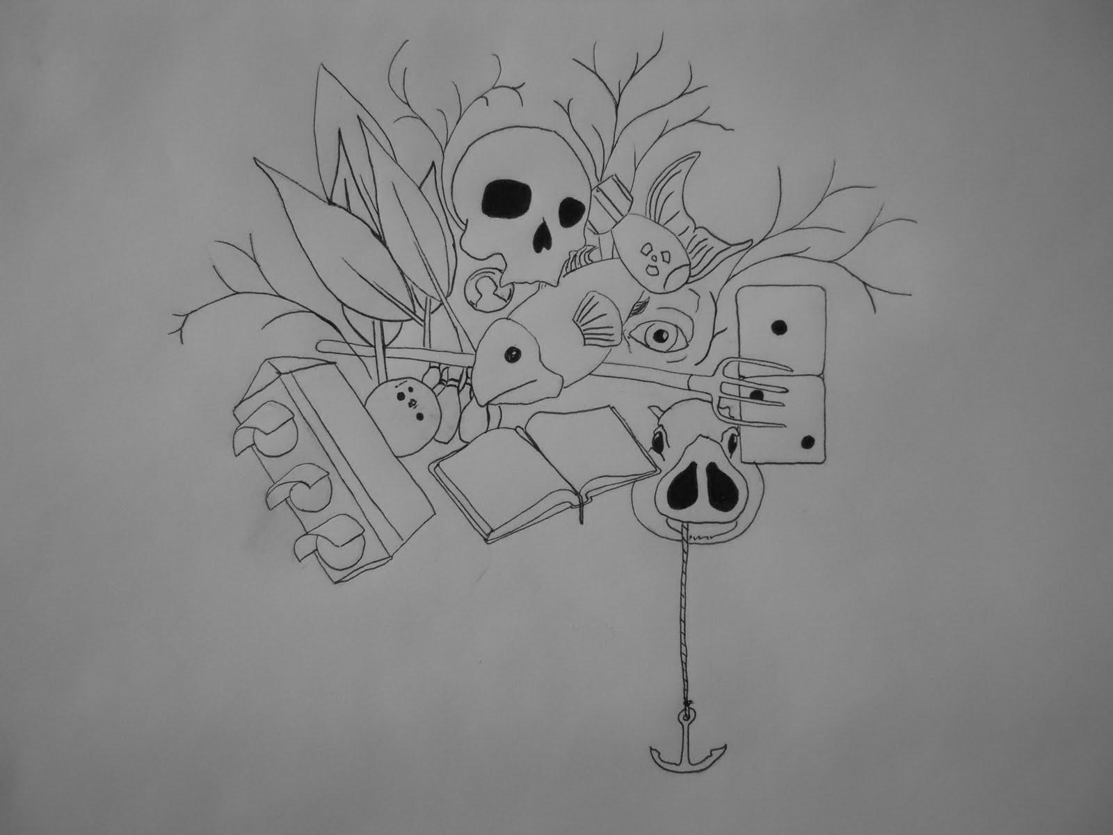 Random Drawings Doodles Viewing Gallery