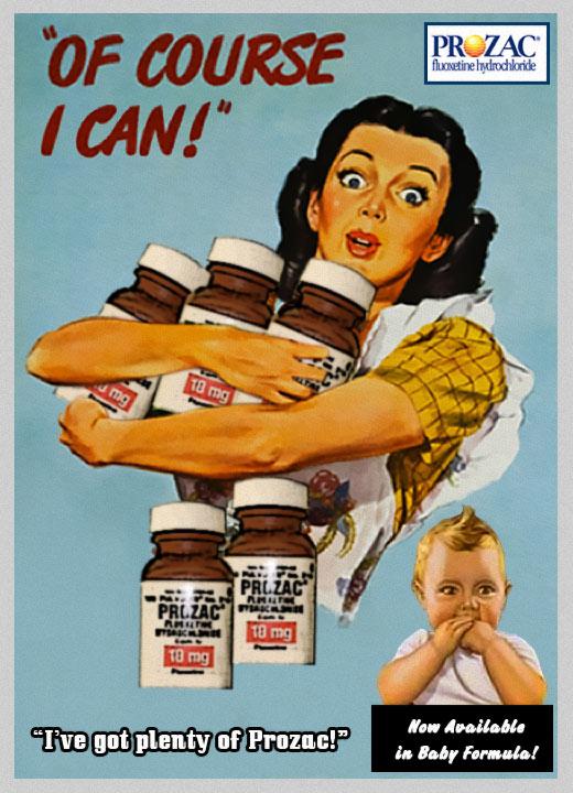 Prozac Withdrawal: Funnies