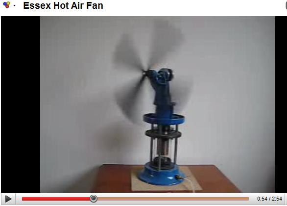 Essex Hot Air Fan