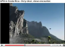 UFO in Costa Rica - Very clear, close encounter.