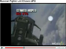 Russian Fighter-Jet Chases UFO