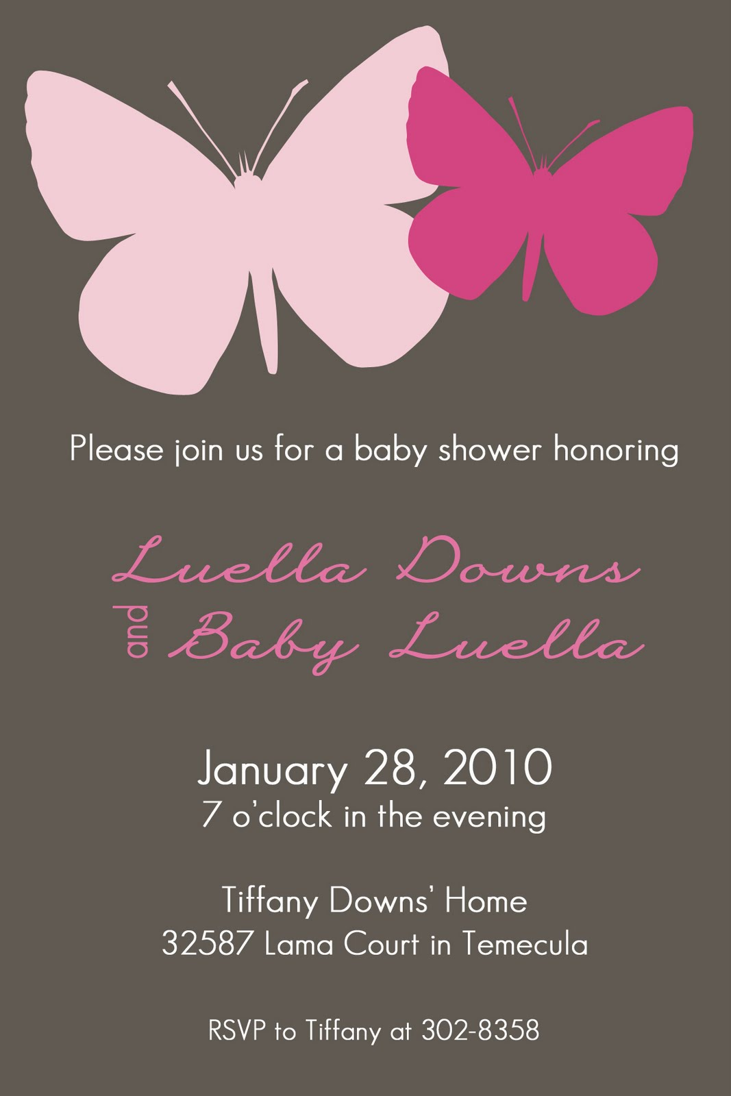 lillebarn baby shower invitations