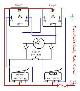 Halloween Tinkering Relays - Rc car relay switch