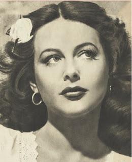 Hedy Lamarr born Hedwig Eva Maria Kiesler