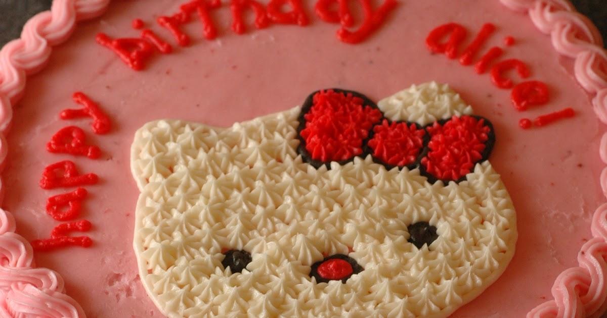 Cake Hello Kitty Pink : i heart baking!: pink hello kitty cake
