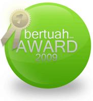 Award dari Mamajambu - Terima Kasih!