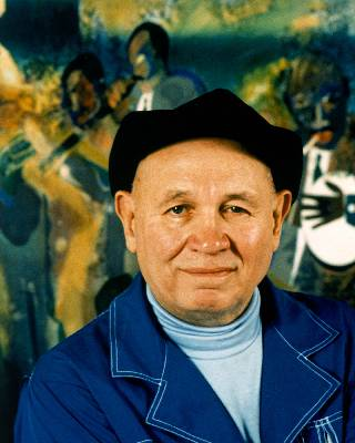 Bearden The Block. the Month: Romare Bearden