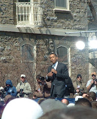 Barack at Penn State