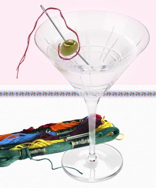 dry martini coctel bordadora