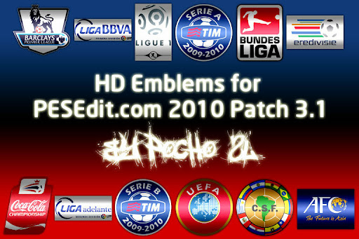 PESEdit 2010 Patch 3.1 Hd Amblem Preview
