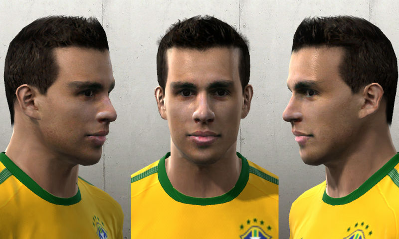 Pes 2010 - Nilmar Face Preview