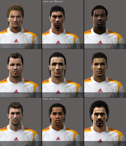 Galatasaray Oyuncu yüzleri Preview