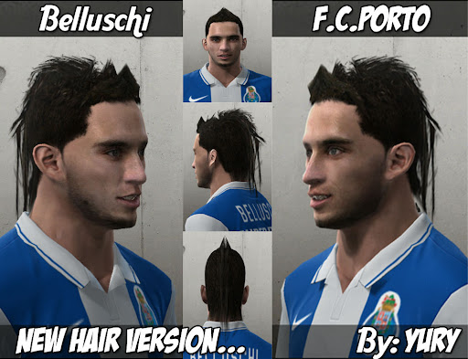 Pes 2010 - Bellushi Face Preview
