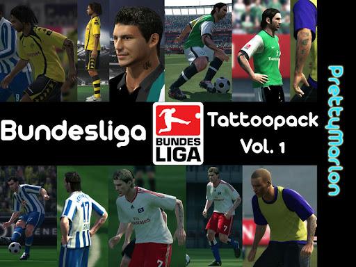 Pes 2010 - Bundesliga Tattoo Pack Vol.1 Preview