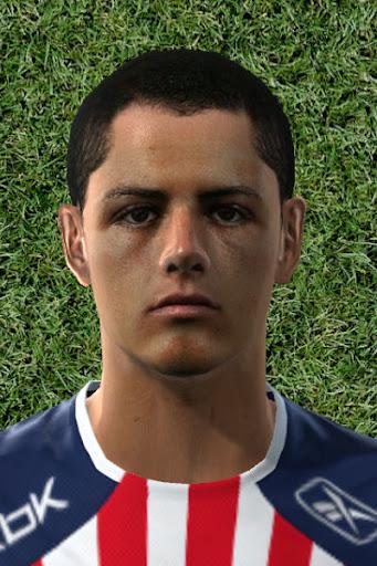 Pes 2010 - Javier Hernandez Face Preview