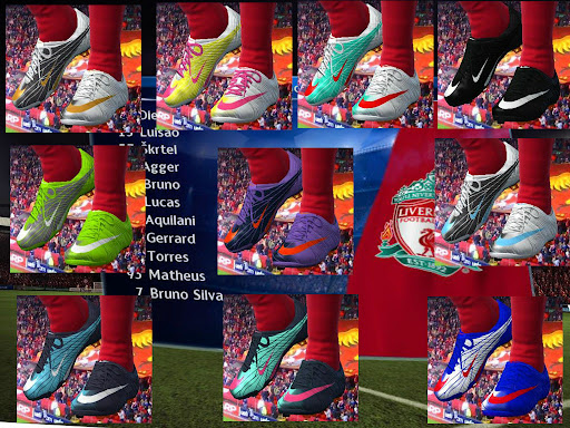 pes 2010 - Nike MV Superfly II Boots Preview
