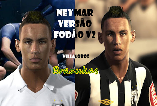 Pes 2010 - Neymar Face Preview