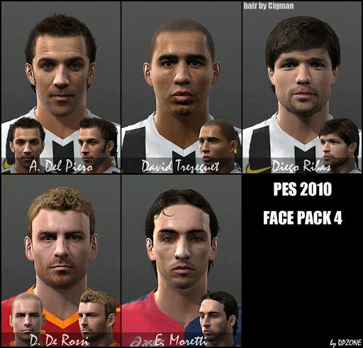 Pes 2010 - Facepack Preview