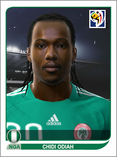 Pes 2010 - Odiah Face Preview