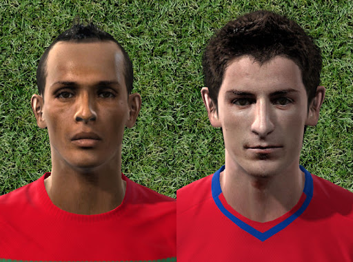 Pes 2010 - Liedson & Tosic Faces Preview