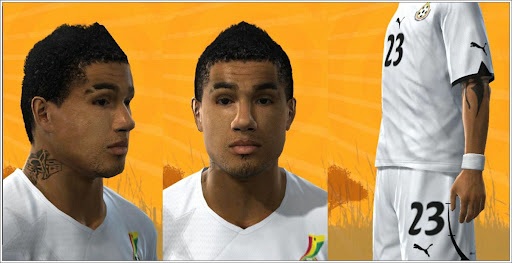 Pes 2010 - Prince Boateng Face Preview