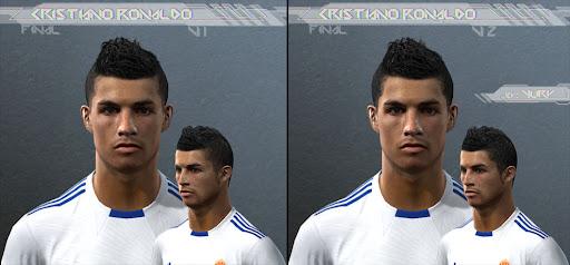 Pes 2010 - Cristiano Ronaldo Face Preview