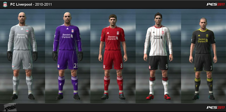 Pes 2011 - Liverpool 10/11 Kit Set - Sayfa 12 Preview