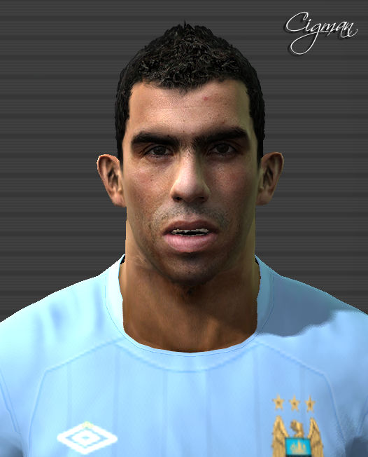Pes Master Posts: Tevez Face By Cigman