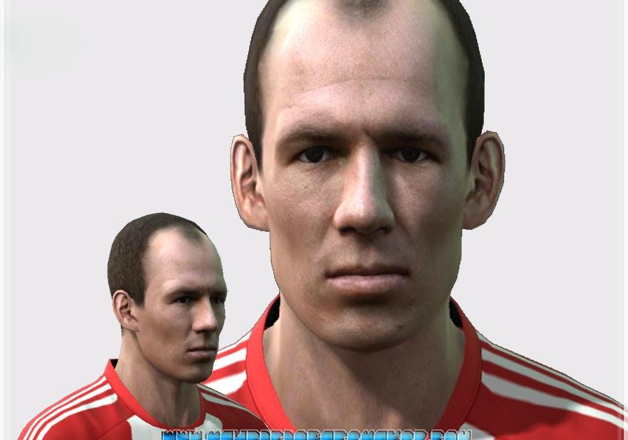 Arjen Robben PES 2014 Face By Stels - PES Patch