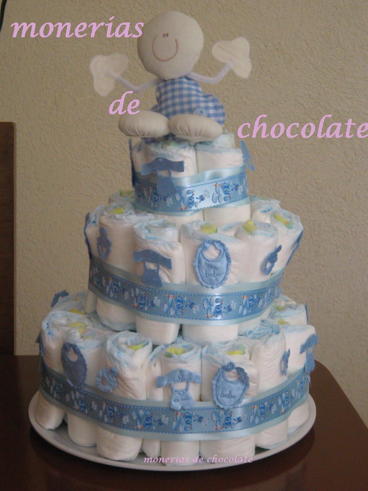 ... de chocolate y bombó: Para Baby Shower hermosísimos Pasteles de