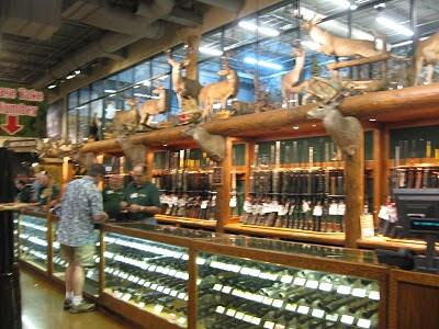 охотничий магазин в США