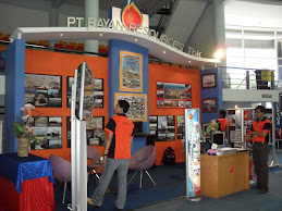 Booth Stand PT Gunung Bayan Resources