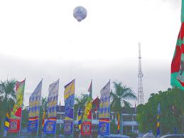 Balon Udara PON XVII Balikpapan
