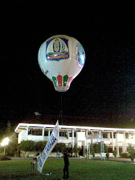 Balon HUT Kota Balikpapan