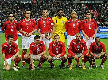England national Football