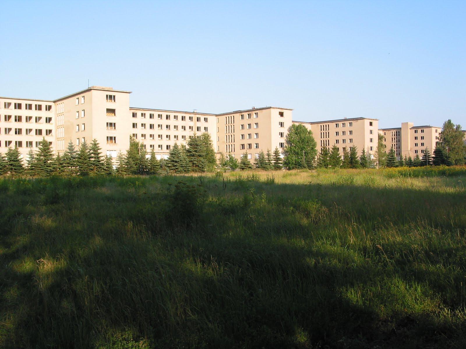 Nazi holiday resort prora rugen germany 2004 jnvr for Nazi holiday resort