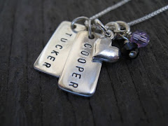 Dainty Rectangle Tag Necklace