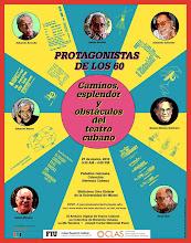 TEATRO CUBANO: PROTAGONISTAS DE LOS 60.