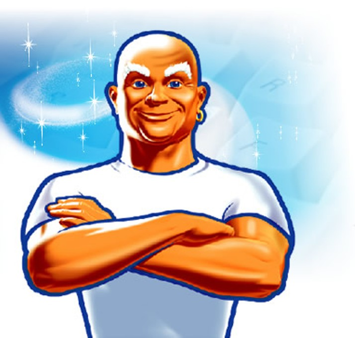 Clean Wholesome: Misswoogoo: Mr. Clean Is My Main Man