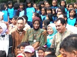 Calon Wakil Ketua PKK Marissa Haque di Lampung Selatan