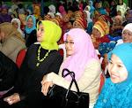 Muslimat NU Bersatu untuk Achmad Suwandhi dan Marissa Haque