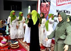 Marissa Haque Dilamar Keluarga Wahidin Halim dan Ismet Iskandar untuk Tangsel 2010