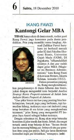 ikang fawzi, suami marissa haque, indopos, 18 desember 2010
