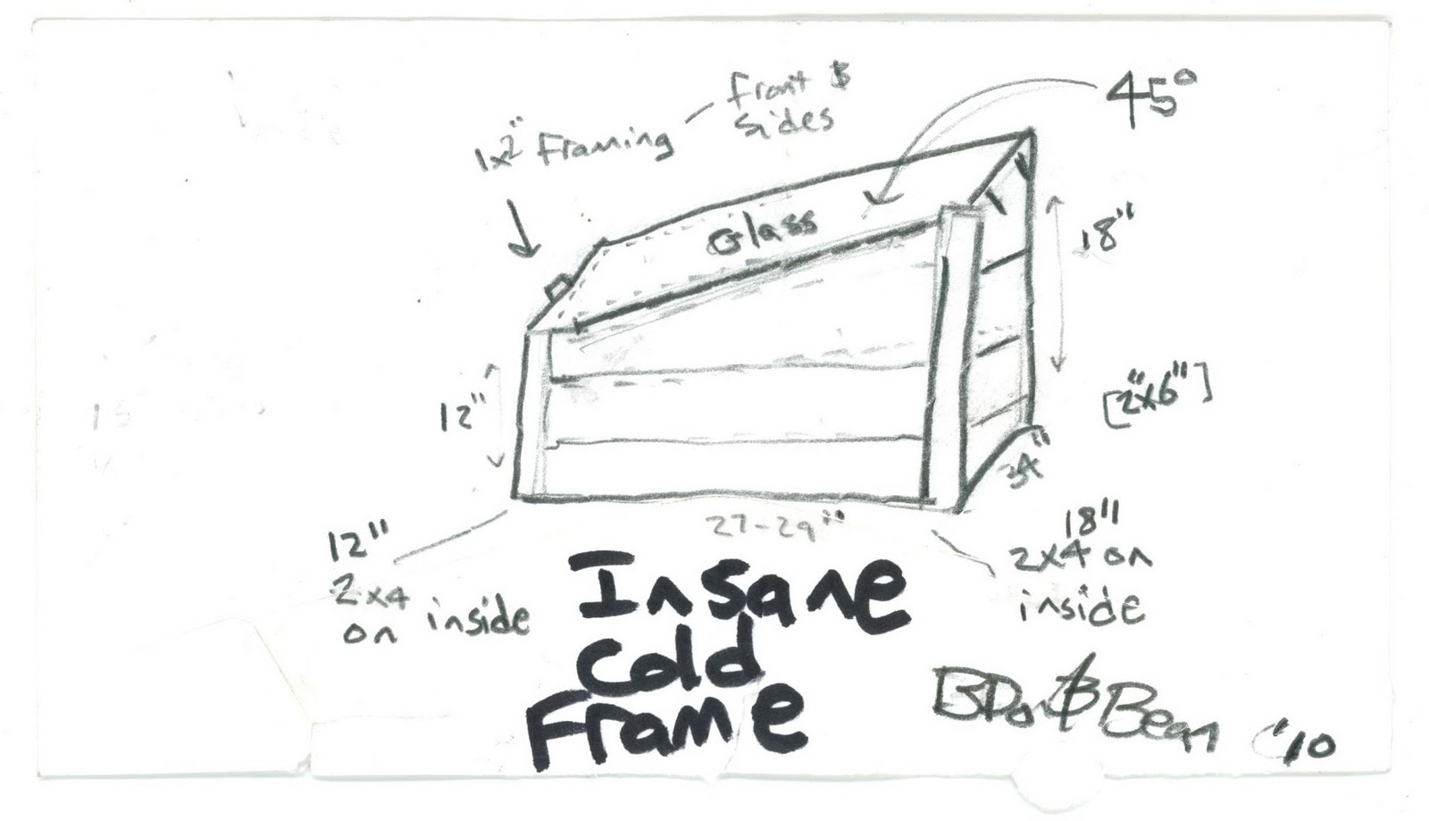 Cats and Catts: Insane in the Cold Frame: A Cats and Catts ...