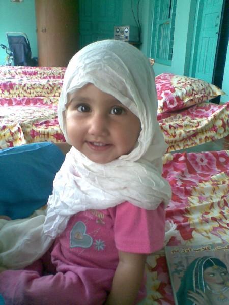 muslim cute baby